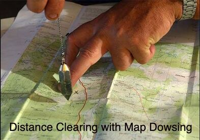 Distance House Clearings / Map Dowsing