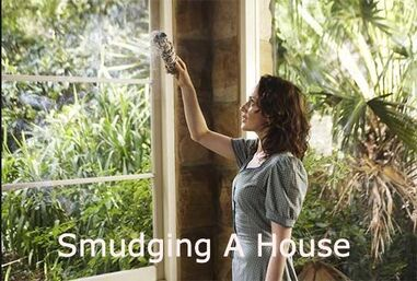 How to smudge a house